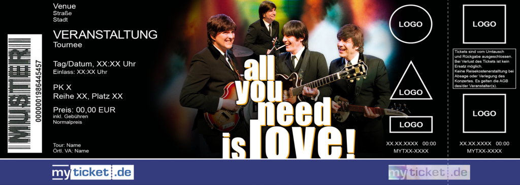 All you need is love! Colorticket