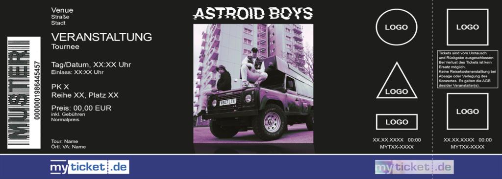 Astroid Boys Colorticket