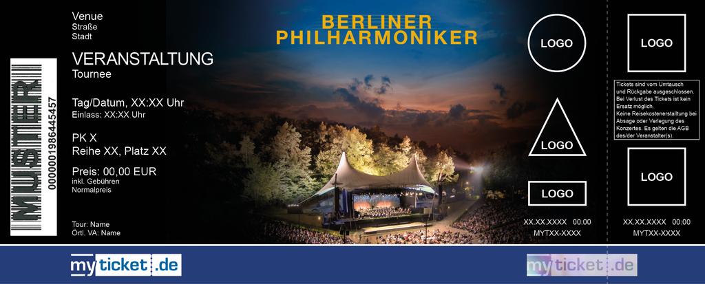 Berliner Philharmoniker Colorticket
