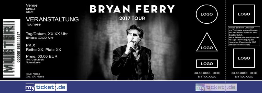 Bryan Ferry Colorticket