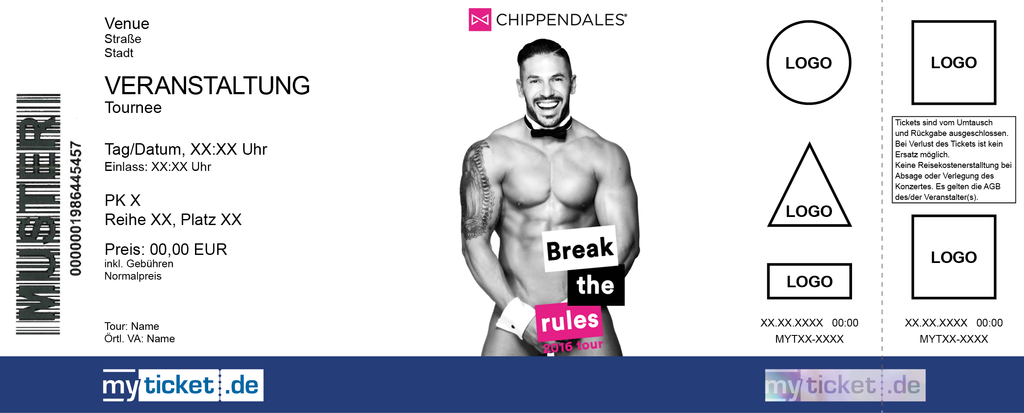 Chippendales Colorticket