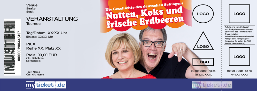 Mary Roos & Wolfgang Trepper Colorticket