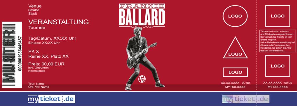 Frankie Ballard Colorticket