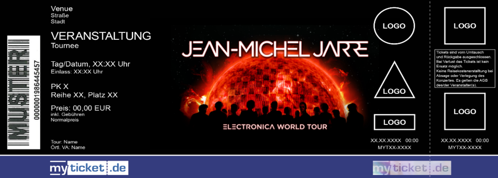 Jean-Michel Jarre Colorticket