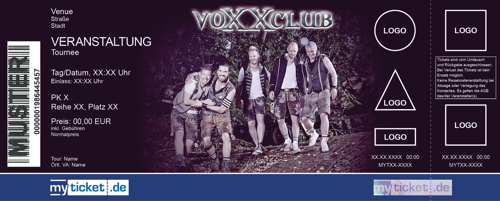 voXXclub Colorticket
