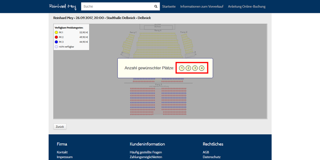 Tickets für Reinhard Mey kaufen
