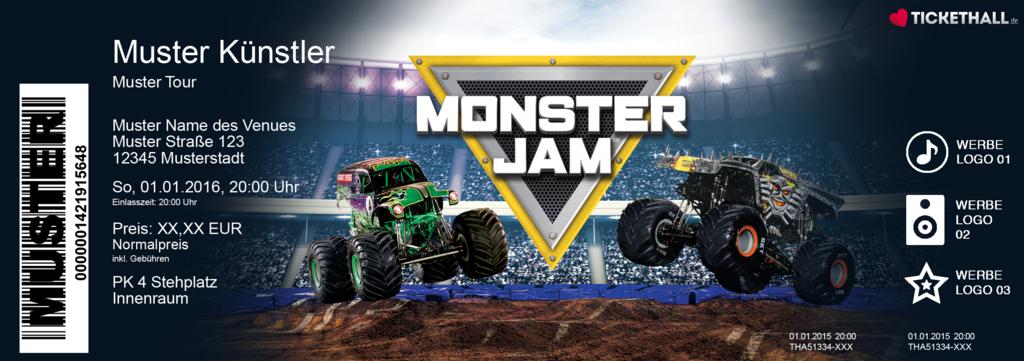 Monster Jam Colorticket