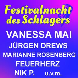 Festivalnacht des Schlagers Tickets