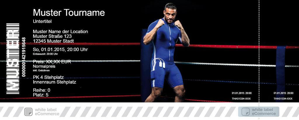 WBA-Weltmeisterschaft im Schwergewicht Colorticket