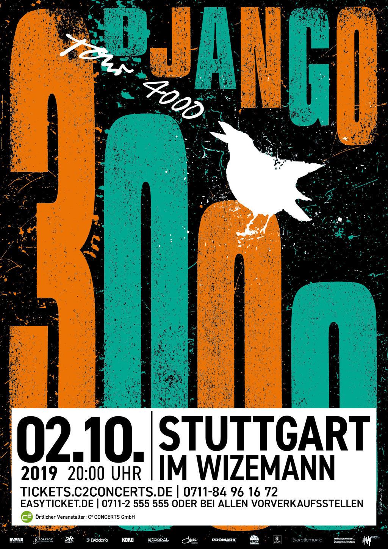 DJANGO 3000 Tickets