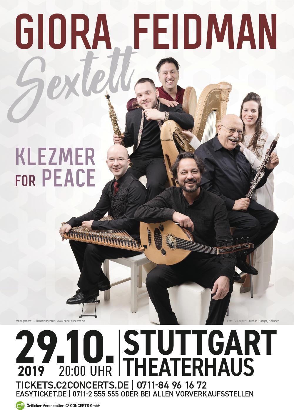 GIORA FEIDMAN SEXTETT Tickets