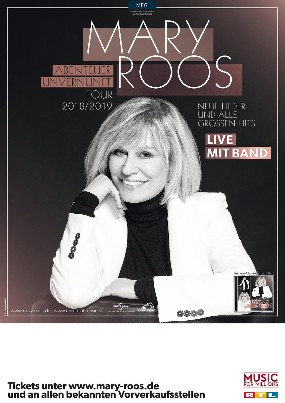 MARY ROOS Tickets