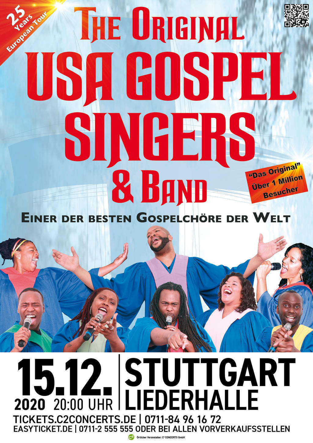 THE ORIGINAL USA GOSPEL SINGERS & BAND Tickets