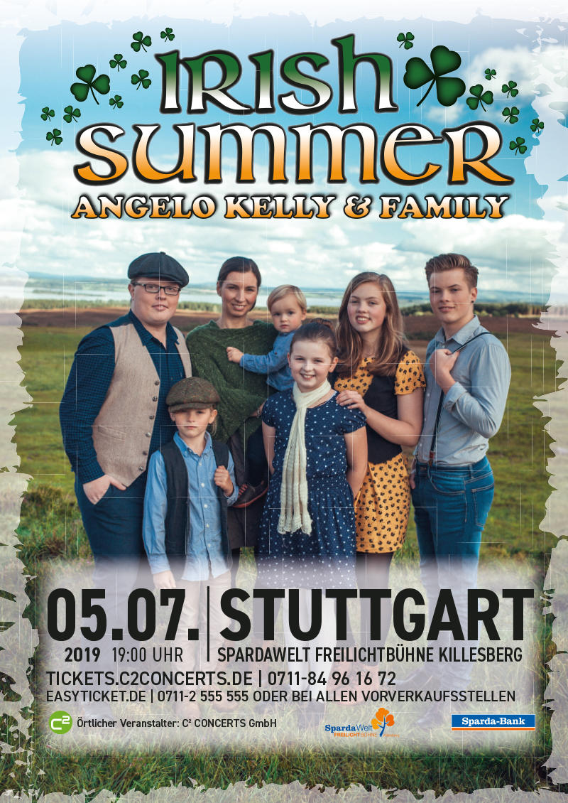 ANGELO KELLY & FAMILY Tickets
