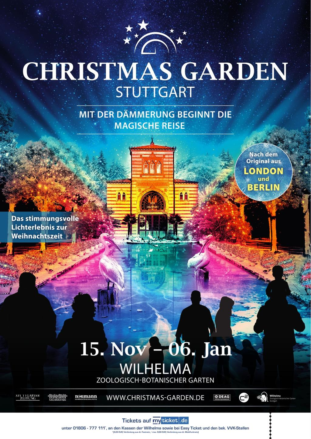Christmas Garden Tickets