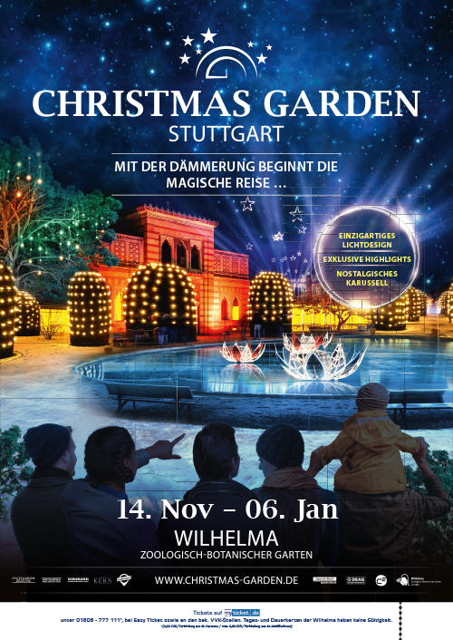 Link Christmas Garden Tickets