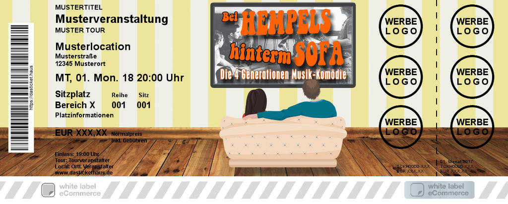 BEI HEMPELS HINTERM SOFA Colorticket