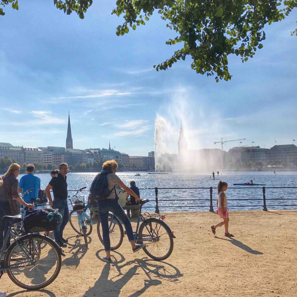 Alster Fahrradtour