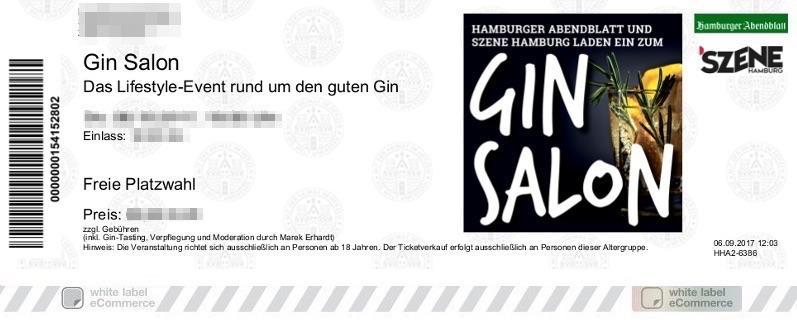 Gin Salon Colorticket