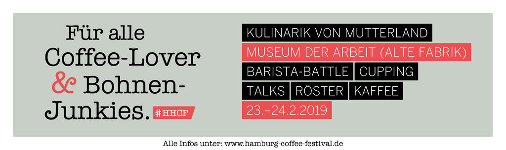 Hamburg Coffee Festival 2019