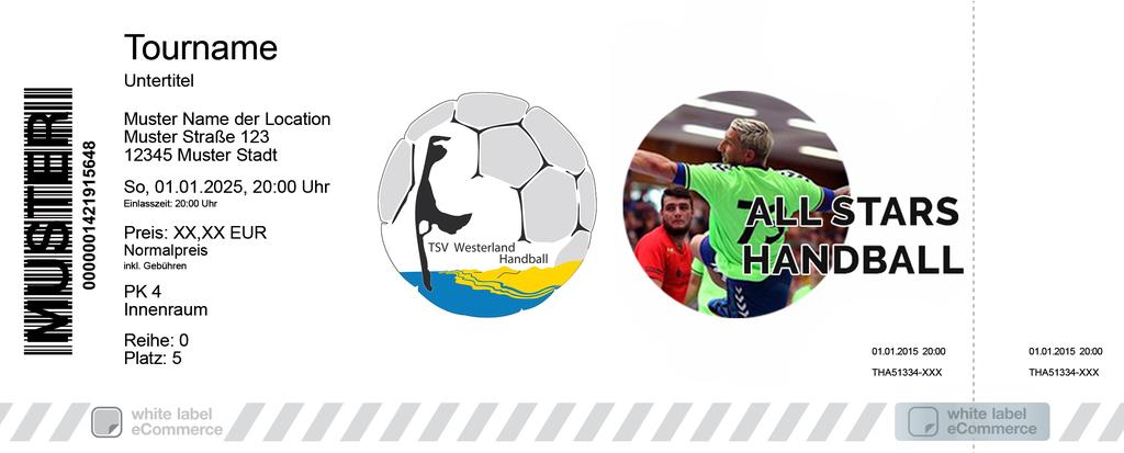 Handball All Stars - TSV Westerland Colorticket