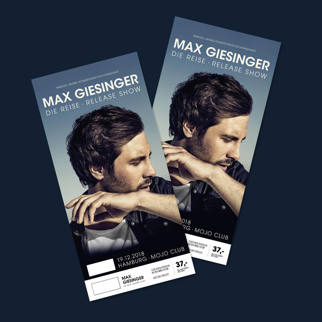 Max Giesinger Colorticket