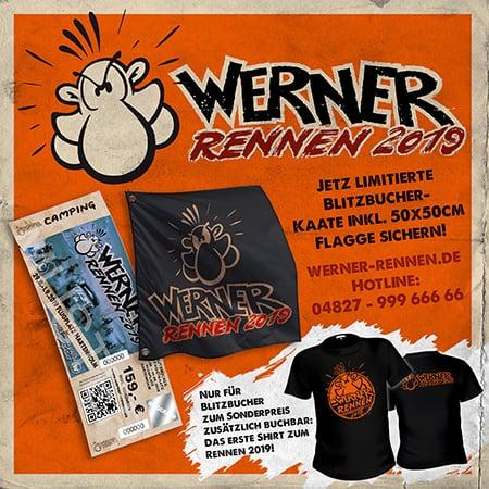 Werner Das Rennen 2019