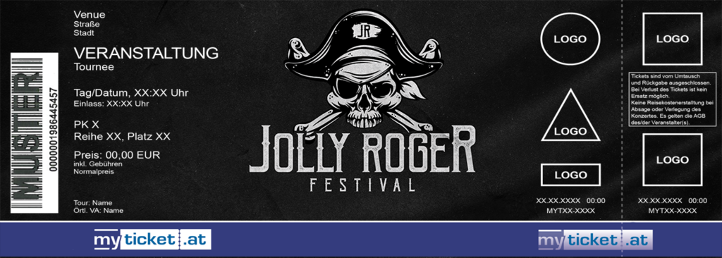 Jolly Roger Festival Colorticket