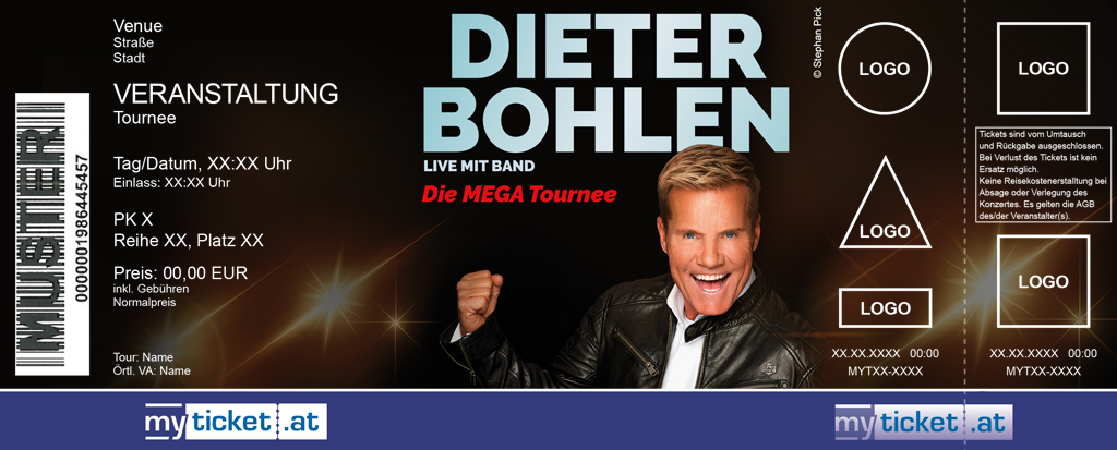 Dieter Bohlen Colorticket