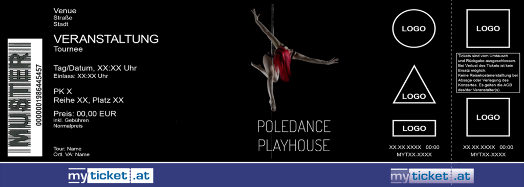 Poledance Playhouse Colorticket