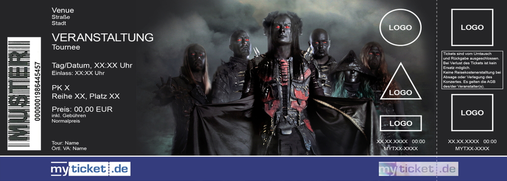 Cradle of Filth Colorticket