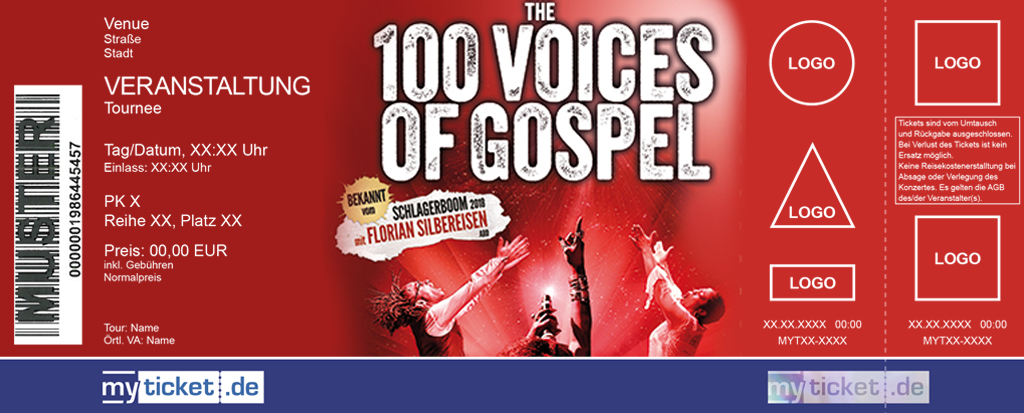 The 100 Voices Of Gospel Colorticket