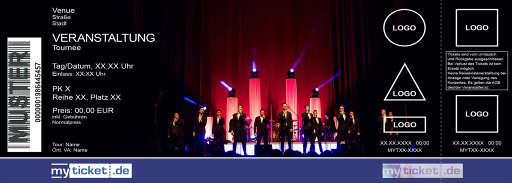 The 12 Tenors Colorticket