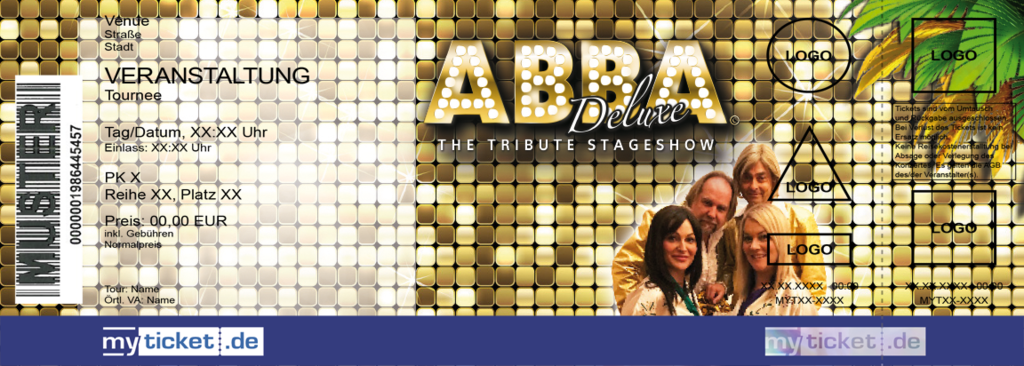 ABBA Deluxe Colorticket