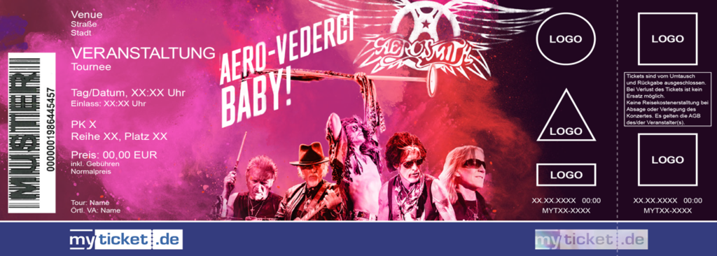 Aerosmith Colorticket