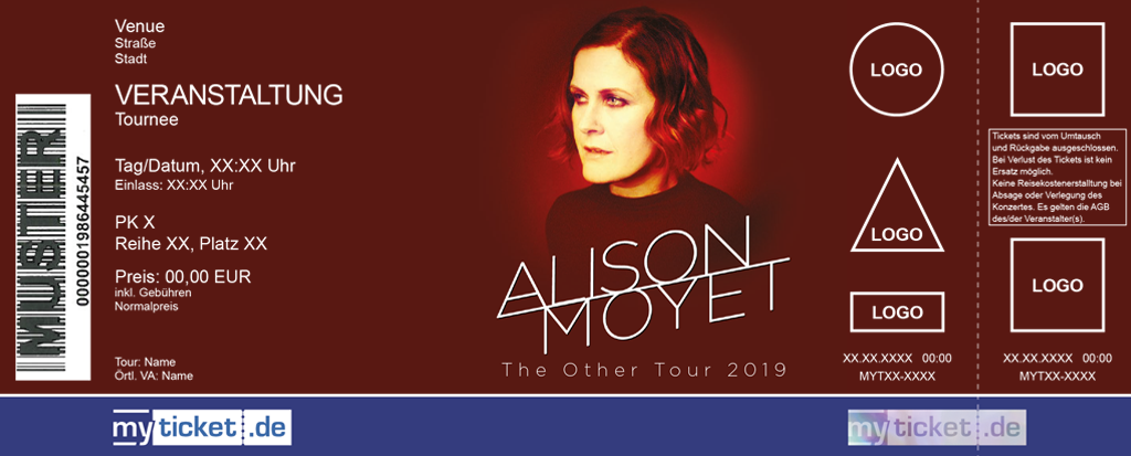 Alison Moyet Colorticket