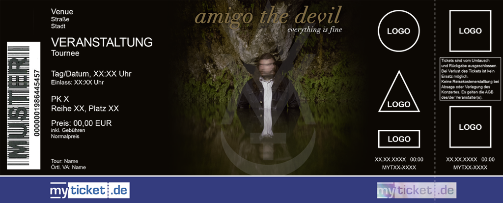 Amigo The Devil Colorticket