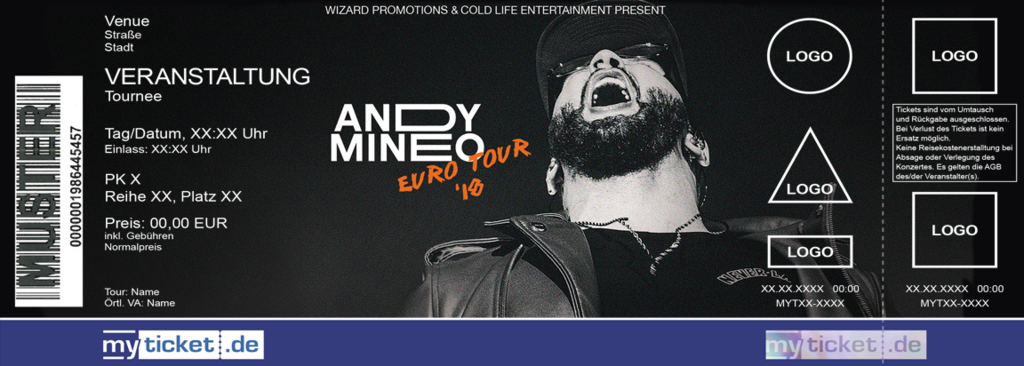 ANDY MINEO Colorticket