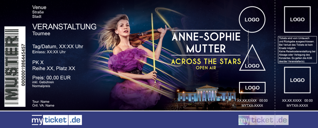 Anne-Sophie Mutter Colorticket