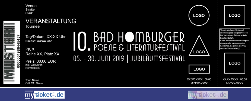 Bad Homburger Poesie & Literatur Festival Colorticket