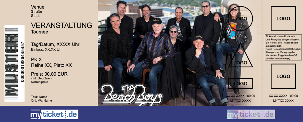 The Beach Boys Colorticket
