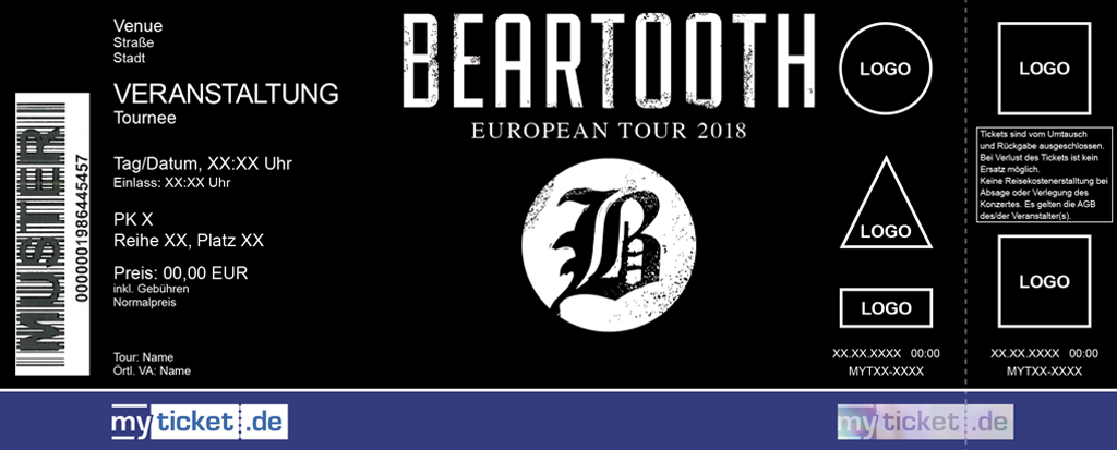 Beartooth Colorticket