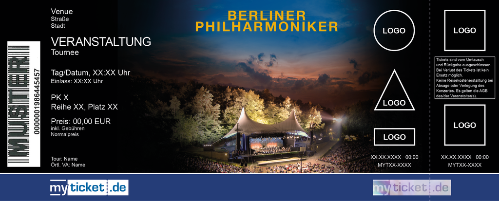 Berliner Philharmoniker Colorticket