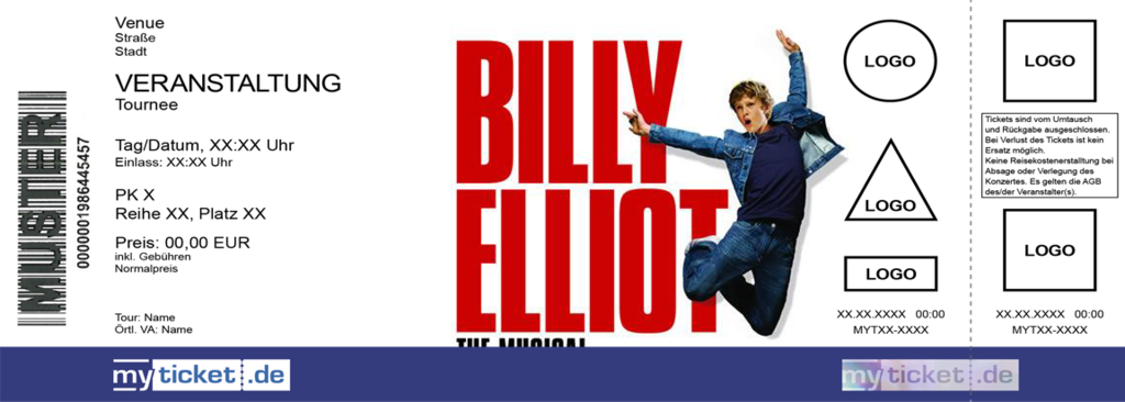 Billy Elliot - The Musical Colorticket