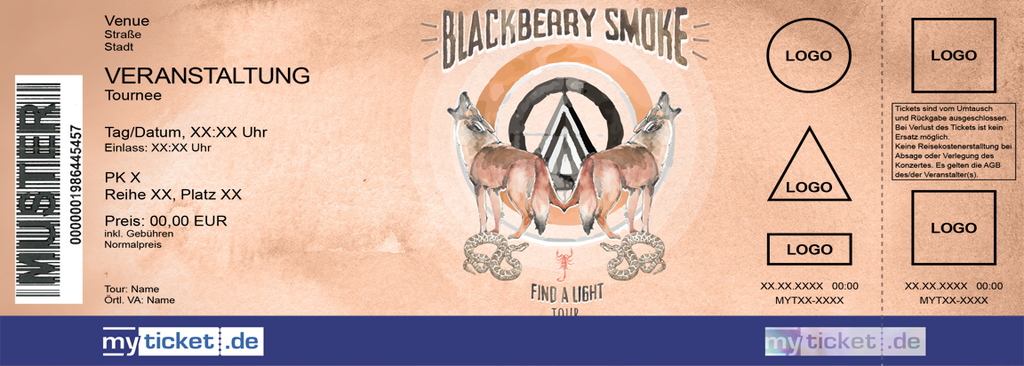 Blackberry Smoke Colorticket