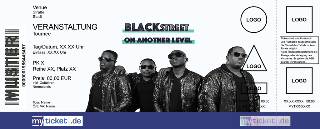 Blackstreet Colorticket