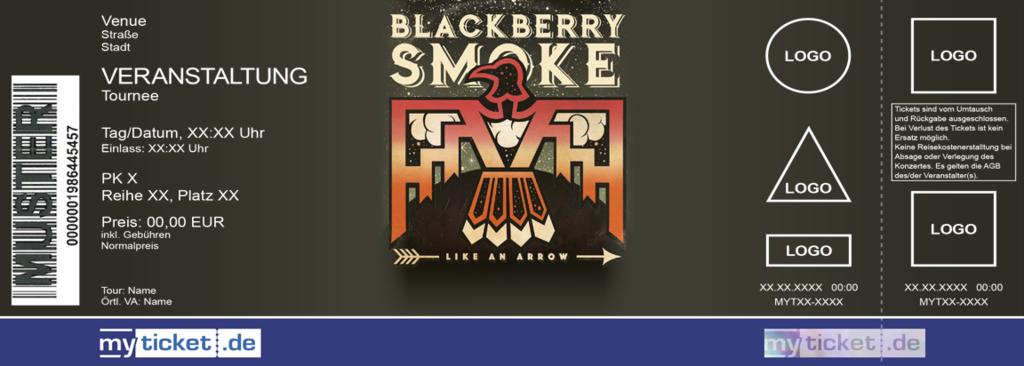 Blackberry Smoke Colorticket