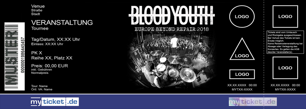 Blood Youth Colorticket
