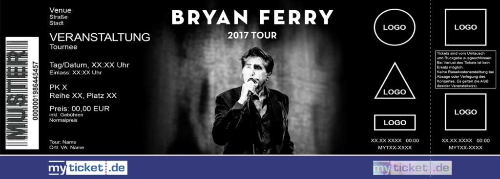 Bryan Ferry Colorticket