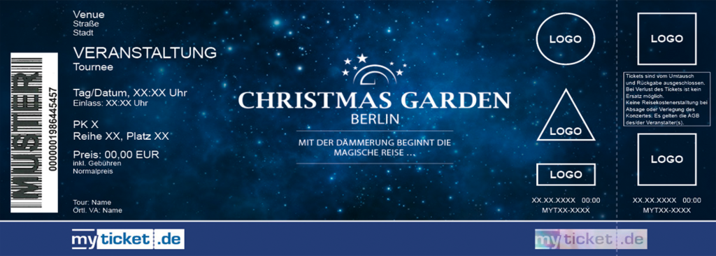 Christmas Garden Berlin Colorticket